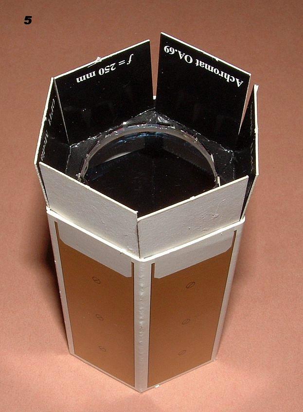 Astronomie im Kartonmodell - Der Sonnenprojektor Sonnenprojektor_ba_04a